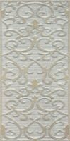 Декор 30X60 Deja Vu Damask Decor Gold White Matt Декор Дамаск